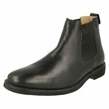 Anatomic & Co Wardrobe Range 'Cardoso' Gents Black Leather Chelsea Boots