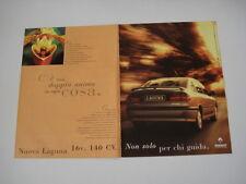 advertising Pubblicità 1995 RENAULT LAGUNA 16V 140 CV