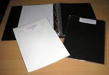A4 tarjeta de archivo ácido libre Inserta Black 250gsm 25 Pack