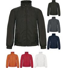 Mens B&C ID 601 Showerproof Windproof Jacket Coat