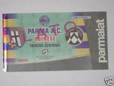 PARMA - UDINESE BIGLIETTO TICKET 2000 / 01