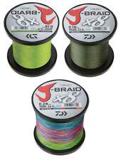 Daiwa J-Braid X8 Wunschlänge dunkelgrün chartreuse multicolor neu original je50m