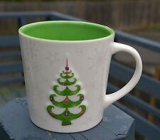 Starbucks Coffee Company Christmas Tree Holiday Mug 2006 17oz Snowflakes