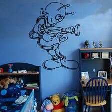 Alien Kids Wall Sticker Art Kids Room Boys Girls Decor KI34