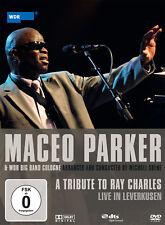 DVD Maceo Parker y Wdr Big Banda A Homenaje To Ray Charles