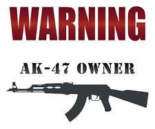 Assault rifle t shirt,Funny shirt,Ak47,7.62x39,Warning ak47 owner,sks,m4
