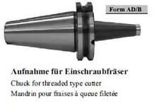 Aufnahme für Einschraubfräser / Chuch for treaded type cutter