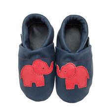 Pantau Baby Lederpuschen, Lauflernschuhe, Babyschuhe, Krabbelschuhe mit Elefant