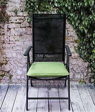 Sitzkissen Gartenkissen Kissen Auflage Stuhlkissen Bootskissen Lime 42,5x46,5cm