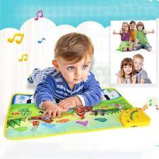 Infant Baby Kids Toy Musical Piano Carpet Farm Animal Toch Keyboard Singing Mat