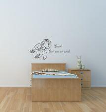 Finding nemo squirt wall art autocollant enfants chambre salle de jeux nursery home