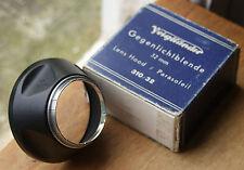 Voigtlander Original 32mm Negro Capucha, Y Caja