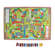 Kids 1:64 Diecast Car w/ 145 x 100 cm Car Racing Road Map Mat Game Kit Gift