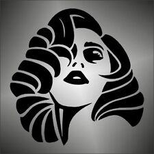adesivo prespaziato   LADY GAGA  rock pop musica music   pre-spaced sticker