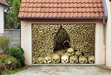 3D Skull Head 728 Garage Door Murals Wall Print Decal Wall AJ WALLPAPER AU Carly