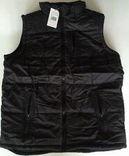 VEST PUFFER Unisex warm soft FULLYlined bodywarmer sleeveless jacket