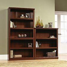 Sauder 412835 5 Shelf Bookcase Select Cherry Finish NEW