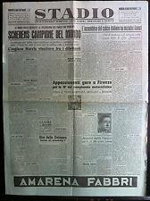 STADIO 28-7-1947 , SCHERENS CAMPIONE DEL MONDO