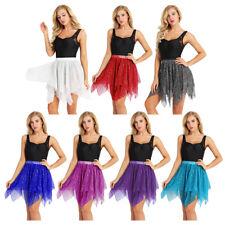 Asymmetric Latin Dance Skirt For Women Professional Sumba Dancing Performance