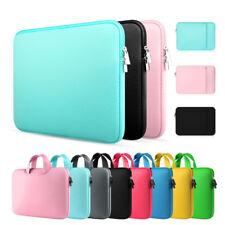 Laptop Case Sleeve Neoprene Soft Notebook Carrying Pouch Bag fr Macbook 11 13 15