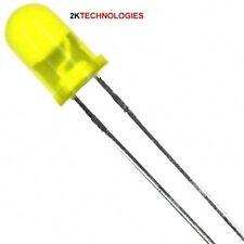 Expo A25207 - 10 x 5mm LED's Yellow - 12 Volt New in Box - UK 1st Class Post