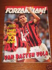 FORZA MILAN 1990/10 PROGRAMME BRUGES CHAMPIONS LEAGUE EUROPEAN SUPERCUP SAMPDORI
