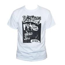 Bondage Punk Rock T shirt 70's Shane Macgowan Sex Pistols The Jam Eater Men's