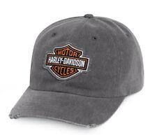 HARLEY DAVIDSON baseballcap Modèle B & S orange