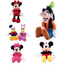 Mickey Mouse Minnie Daisy Plush Toys Cute Goofy Donald duck Kawaii Stuffed Toys