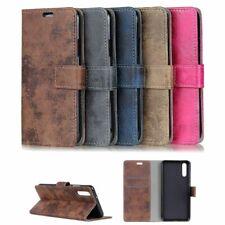 Flip Case Handy-Hülle BOOK #M36 VINTAGE zu HUAWEI P20/LITE - Tasche Schutz Cover