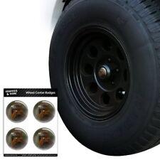 Red-Tailed Hawk Raptor Portrait Tire Wheel Center Cap Badge Stickers