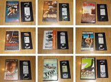 PELICULAS DE ACCION Y AVENTURA AÑOS 80-90 - VHS ESPAÑOL - ELIGE LA QUE PREFIERAS