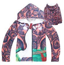 Tipo Vaiana Felpa Inverno Simil Moana Maui Oceania Hooded Winter Jacket HOMAU02