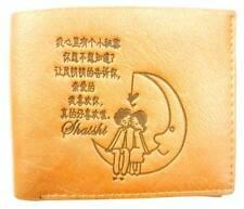 Neuf Simili Cuir Marron Mignon couple et oriental Chinois Symboles double