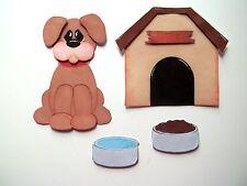 3D  -U Pick - Ai2 Cat Dog Kitten Puppy Pet Animals Card Scrapbook Embellishment