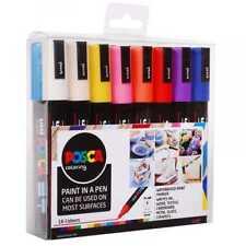 UNI Posca Marker confezione 16 Colori: PC-1MR/PC-1M/PC-3M/PC5-M/PC8-K