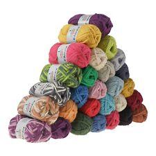 50g Filzwolle CHIMERA, Wolle zum Strickfilzen, verschiedene Farben (5,18€/100g)