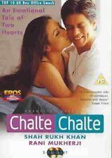 Chalte Chalte DVD EROS BOLLYWOOD DVD - Shah Rukh Khan, Rani Mukherji