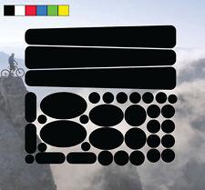 TELAIO e forcella protettori BICICLETTA BICI CICLO Kit Decalcomanie Adesivi