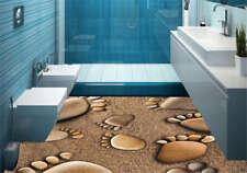 Happy Little Feet 3D Floor Mural Photo Flooring Wallpaper Home Print Decoration