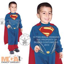 Toddler Superman 0-2 Tiny Tikes Man of Steel Boys Fancy Dress Superhero Costume
