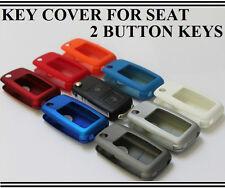 Seat 2 Button Flip Key Cover Case Ibiza Leon Toledo Alhambra Arosa Cordoba
