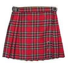 New Girls Pleated Royal Stewart Tartan/Plaid Scottish Kilt Skirt Ages 2 - 14