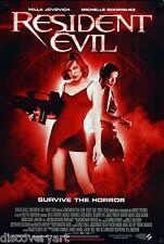 Resident Evil 2002 Milla Jovovich Movie Poster tela pared arte películas impresión