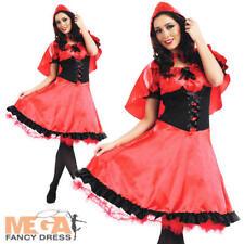 Caperucita Roja longitud más larga Vestido