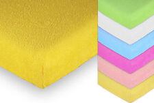 BABY TERRY TOWEL SHEET 90x40 120x60 140x70  MATTRESS NURSERY COT BED BEDDING SET