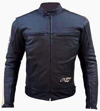 Giacca Giubotto Moto Uomo Donna Pelle Protezioni CE Sfodrabile 2 Giacche Offerta