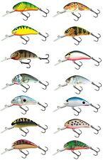 Salmo HORNET GALLEGGIANTE dei pesciolini artificiali 6cm/Pesce Persico Luccio Esca Plug