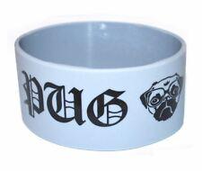 Pug Life White Silicone Wristband Wholesale
