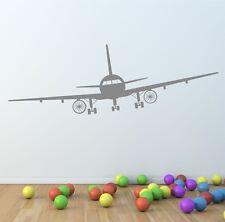 Autocollant Mural Vinyle avion Autocollant Citation Chambre Enfants | | AVION BOEING | G21